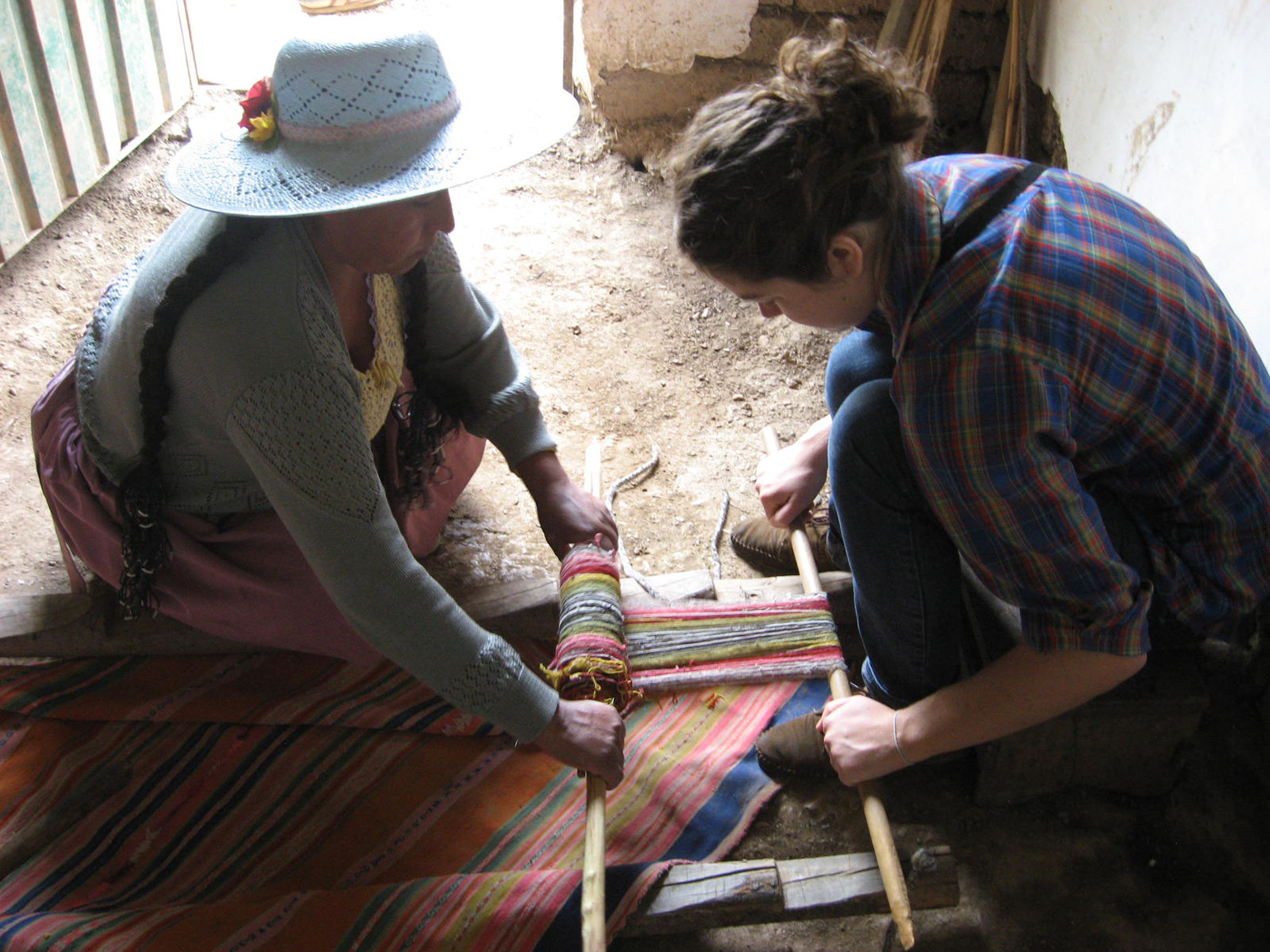 Warping with a PAZA Master Weaver