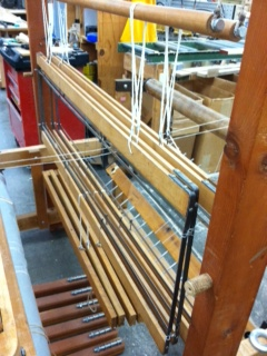 The assembled loom!